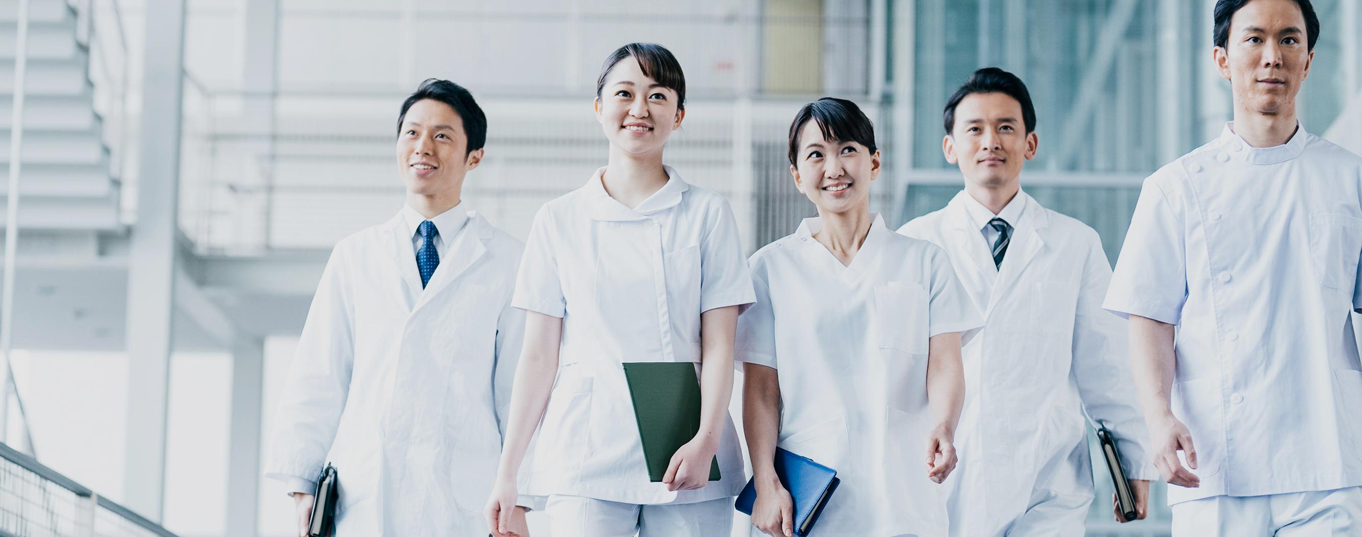 医療の質を向上し、日本の未来に真の医療を。